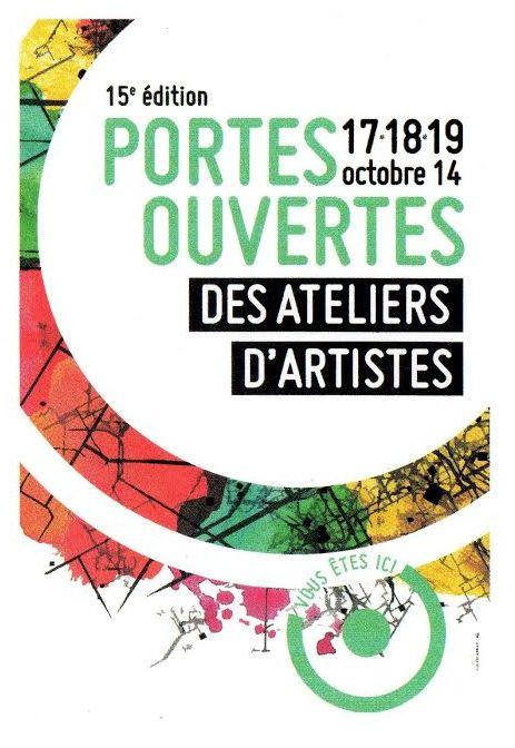 portes ouvertes des ateliers d'artistes 2014